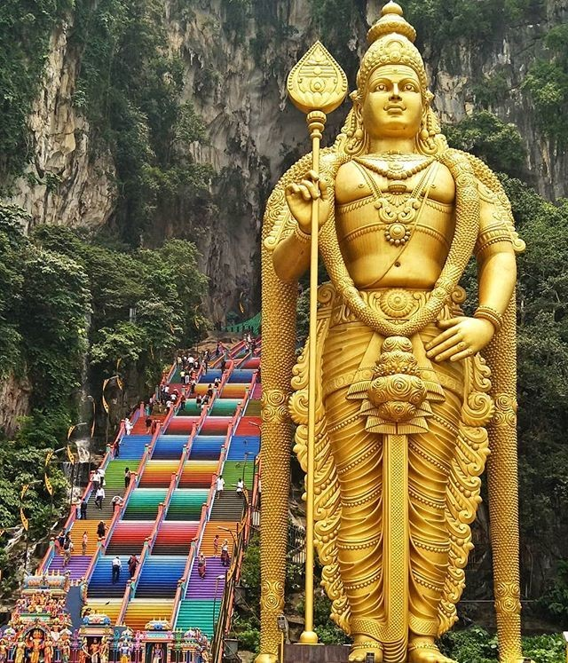 Countryside & Batu Caves (Half Day Tour)