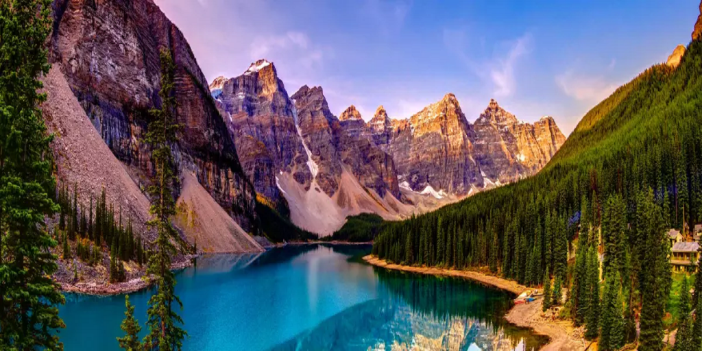 Iconic National Parks of the American & Canadian Rockies