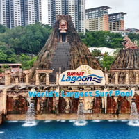 Sunway Lagoon (Entrance Ticket + Transfer)
