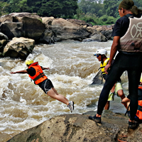 White Water Rafting Jeram Besu Pahang (Day Tour)